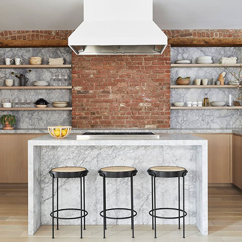 25 Gorgeous Exposed Brick Wall Kitchen Designs You Ll Love The Great Canadian Kitchen Company
